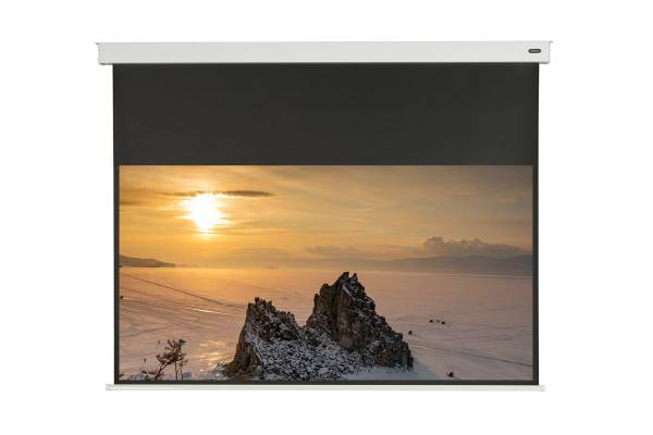 """celexon Professional Akku Leinwand II 320 x 180cm - 145"""" Wireless Motorleinwand"""