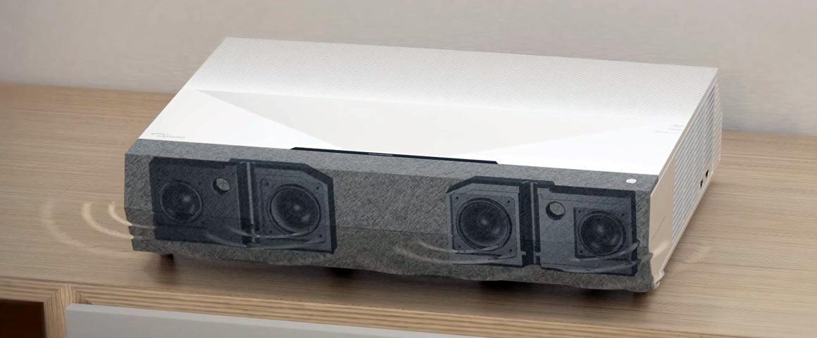 Optoma UHZ60UST Lautsprecher Soundbar