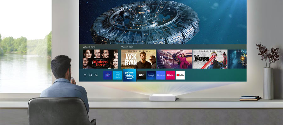 Streaming Apps Laser TV