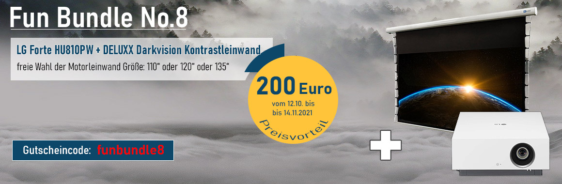 LG Forte HU810PW Funbundle Herbst 2021