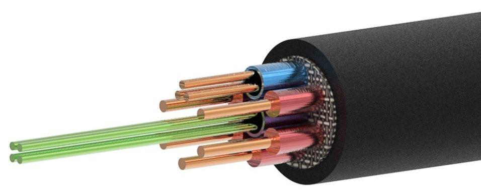 Celexon_Querschnitt_Lichtleiter_Hybrid_HDMI_Kabel_
