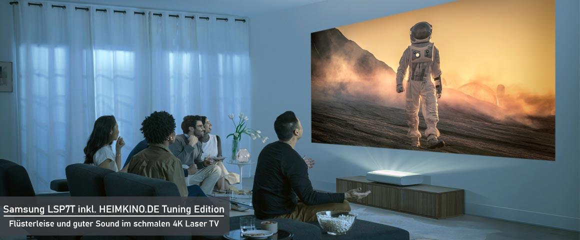 Samsung Premiere LSP7T Wohnzimmer Laser TV