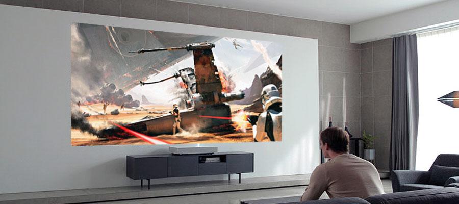 Laser TV Input Lag Messungen