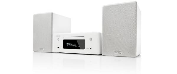 Denon CEOL-N10 Hi-Fi Netzwerk CD Receiver, weiss