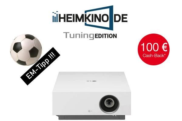 LG CineBeam Forza AU810PW - 4K HDR Laser Beamer   HEIMKINO.DE Tuning Edition