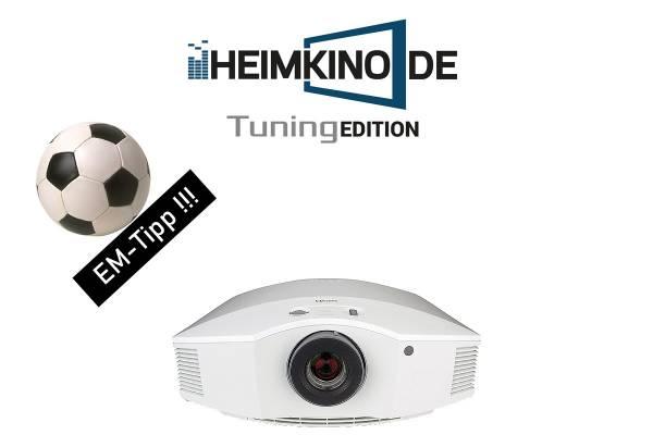 Sony VPL-HW65ES Weiß - Full HD 3D Beamer   HEIMKINO.DE Tuning Edition