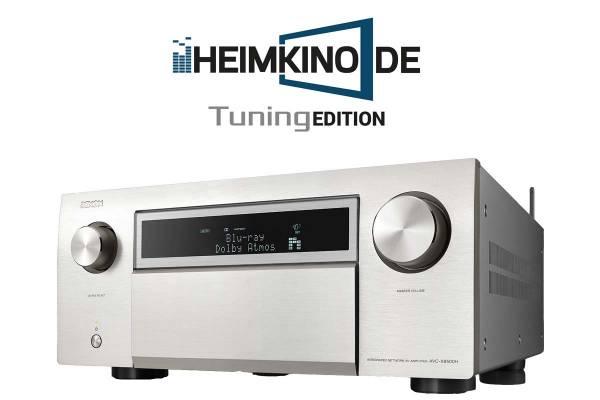 Denon AVC-X8500H 13.2 Kanal Heimkino-AV-Verstärker, silber
