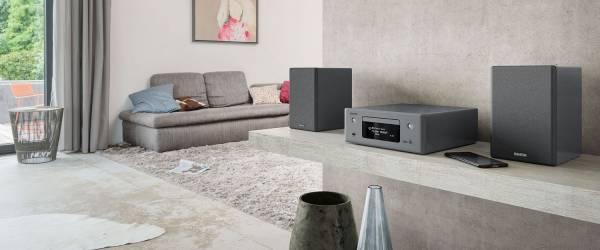 Denon CEOL-N10 Hi-Fi Netzwerk CD Receiver, grau