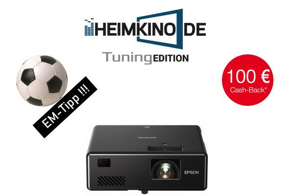 Epson EF-11 - Full HD Laser Beamer | HEIMKINO.DE Tuning Edition