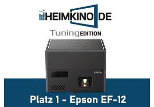 Epson EF-12 Full HD Laser Beamer Gewinner
