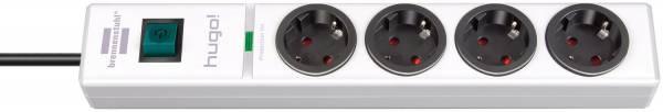 Brennenstuhl hugo! 19.500 A Überspannungsschutz-Steckdosenleiste 4-fach weiß