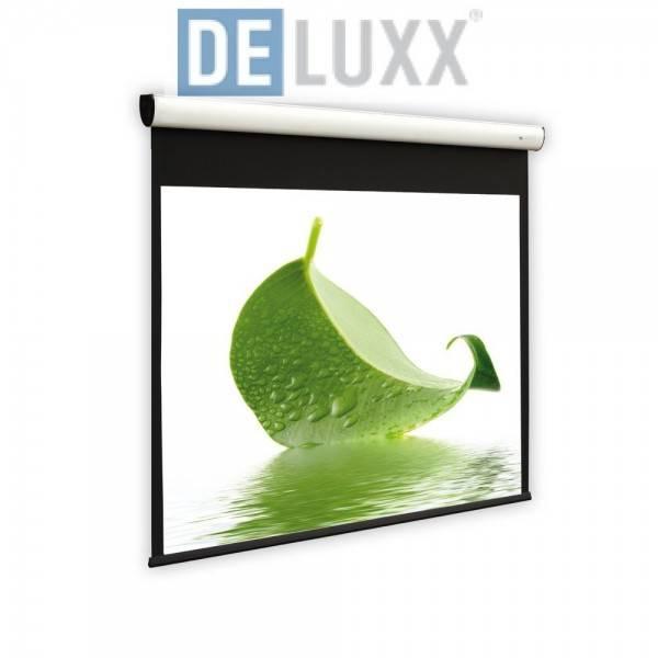 DELUXX Cinema Motorleinwand Elegance Tension 193x158