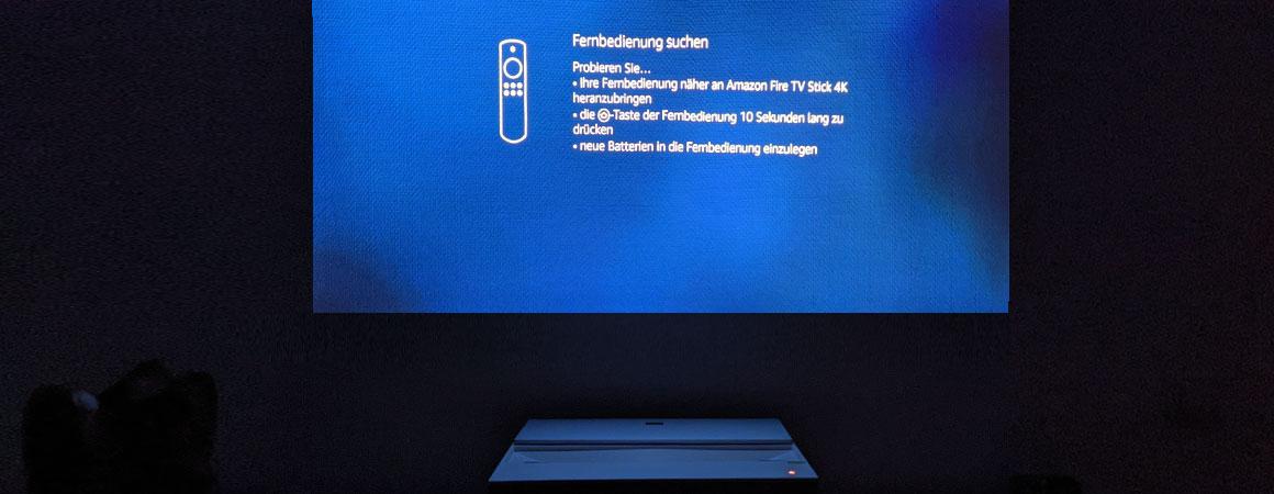 BenQ V6000 Amazon FireTV Stick Installation