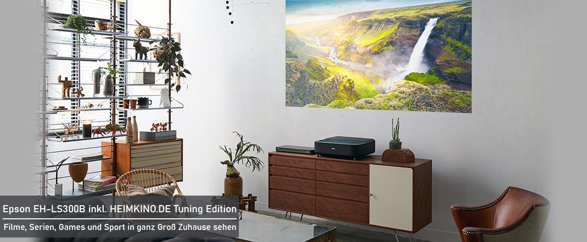 Epson LS300B Wohnzimmer Installation