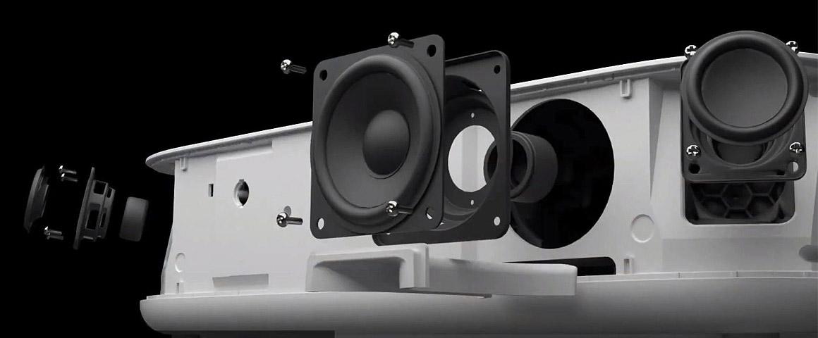 Epson LS300W Yamaha Soundbar