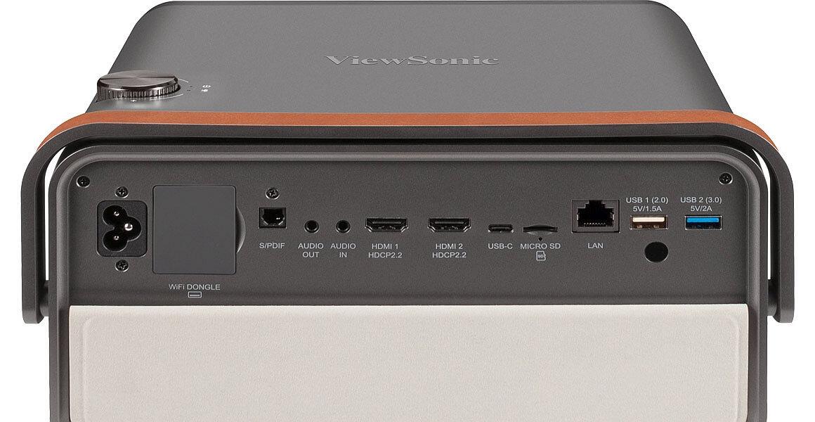 Anschluesse Viewsonic X10-4K Beamer