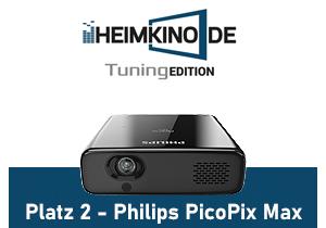 Philips PicoPix Max LED Beamer Testsieger