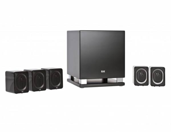 ELAC Cinema 30 Set - schwarz