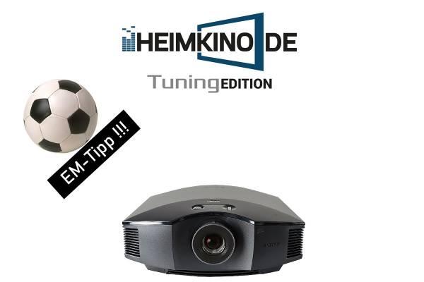 Sony VPL-HW65ES Schwarz - Full HD 3D Beamer   HEIMKINO.DE Tuning Edition