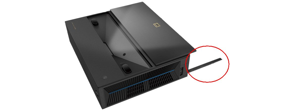 Abstand Installation BenQ i965L