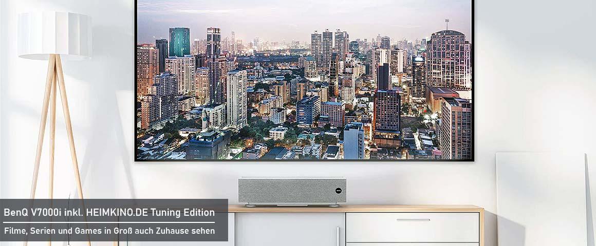 BenQ V7000i Laser TV Installation