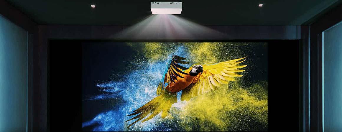 LG Largo4K LED Beamer Installation
