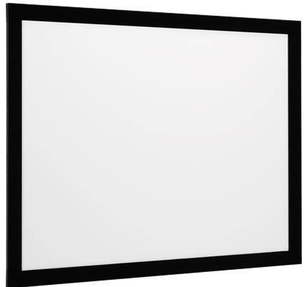 euroscreen Rahmenleinwand Frame Vision mit React 3.0 295 x 174,5 cm 16:9 Format