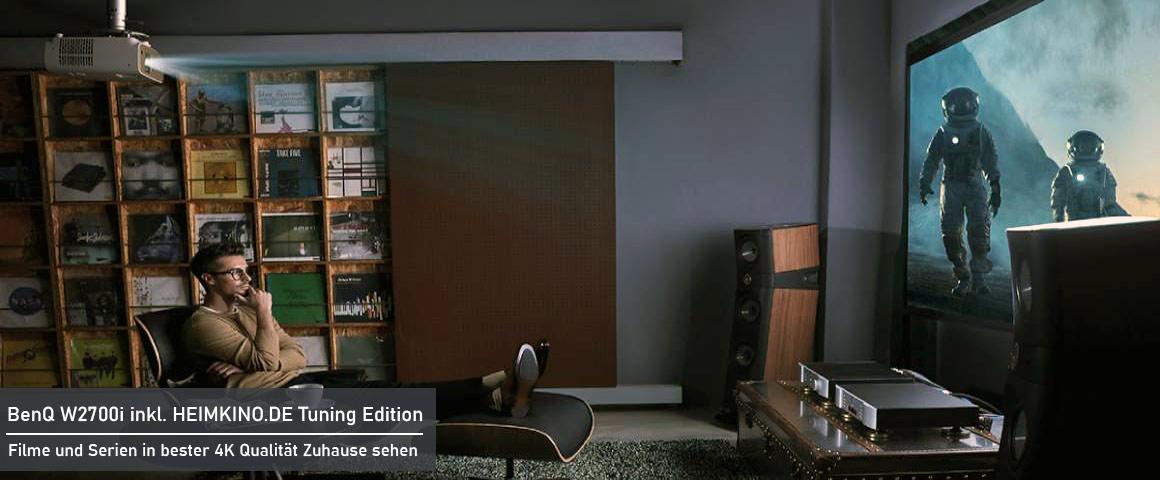 BenQ W2700i Heimkino Beamer Installation