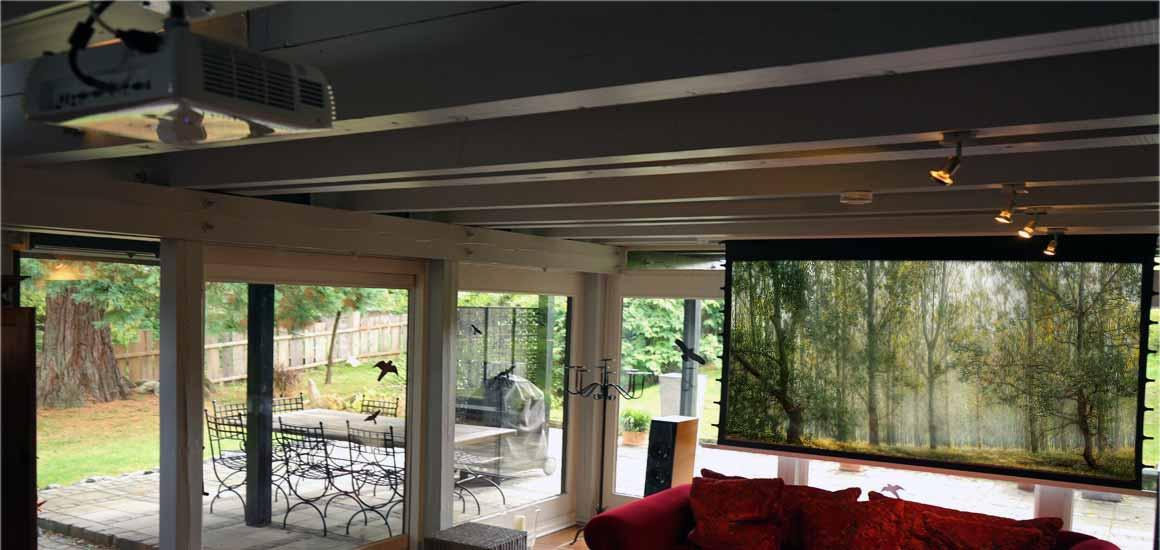 Lautsprecher Anordnung Heimkino Wood House