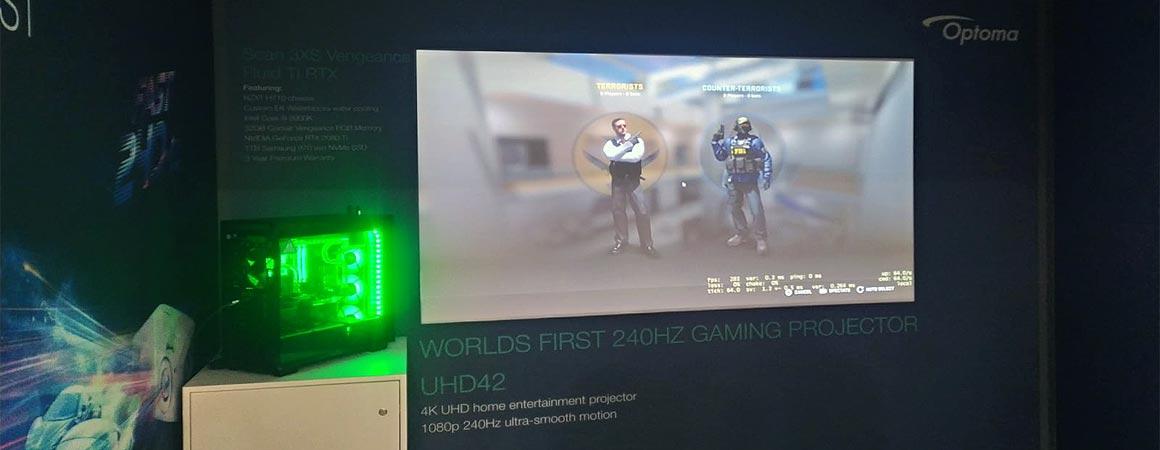 Optoma UHD42 Gaming Beamer