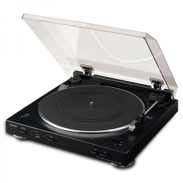 Denon Plattenspieler DP200 - schwarz