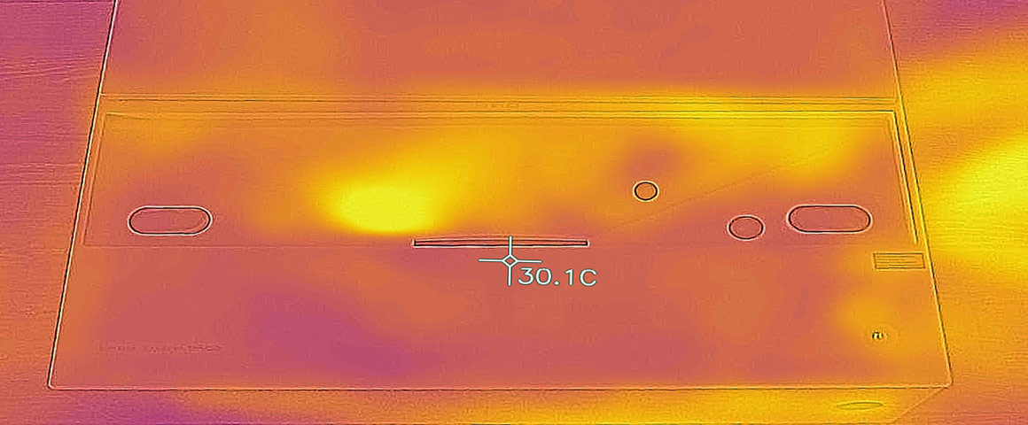 BenQ V6000 Abwärme Kühlung