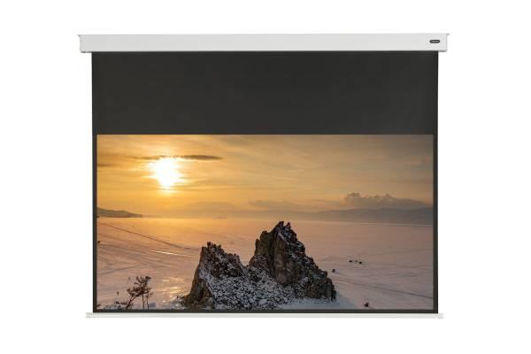"""celexon Professional Akku Leinwand II 300 x 169cm - 135"""" Wireless Motorleinwand"""