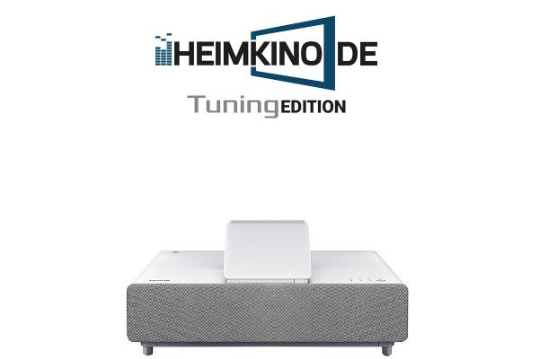 Epson EH-LS500W Android TV - 4K HDR Laser TV Beamer | HEIMKINO.DE Tuning Edition