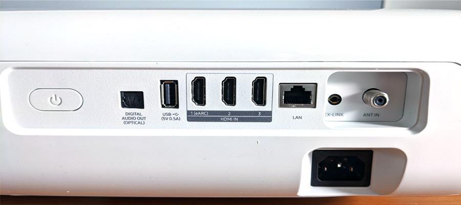 Laser TV HDMI Anschluss
