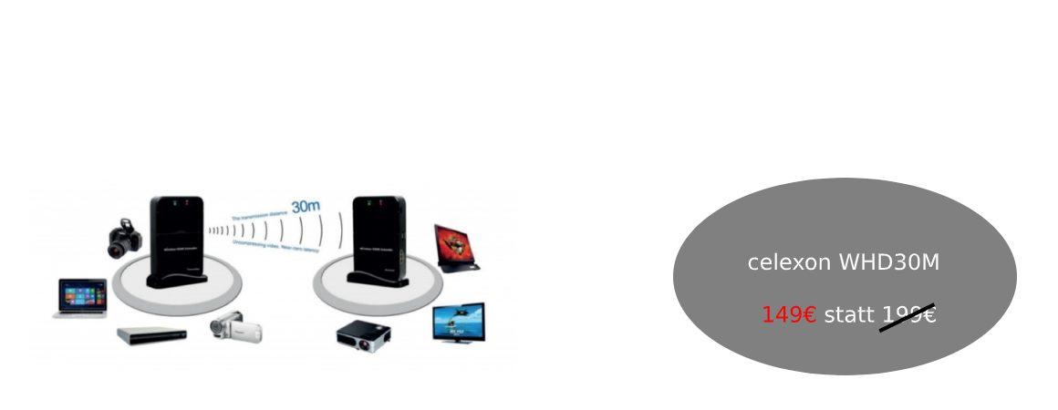 celexon WHD30M HDMI Set