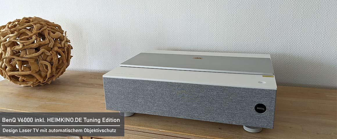 BenQ V6000 Laser TV für das Wohnzimmer
