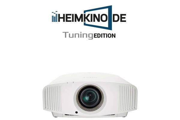 Sony VPL-VW590ES Weiss - 4K HDR Beamer   HEIMKINO.DE Tuning Edition