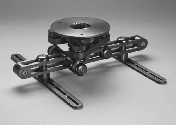 WS Alu Design Deckenhalter f. Projektoren, Alu schwarz