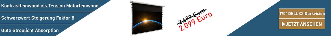 DELUXX Darkvision 170 Kontrastleinwand kaufen