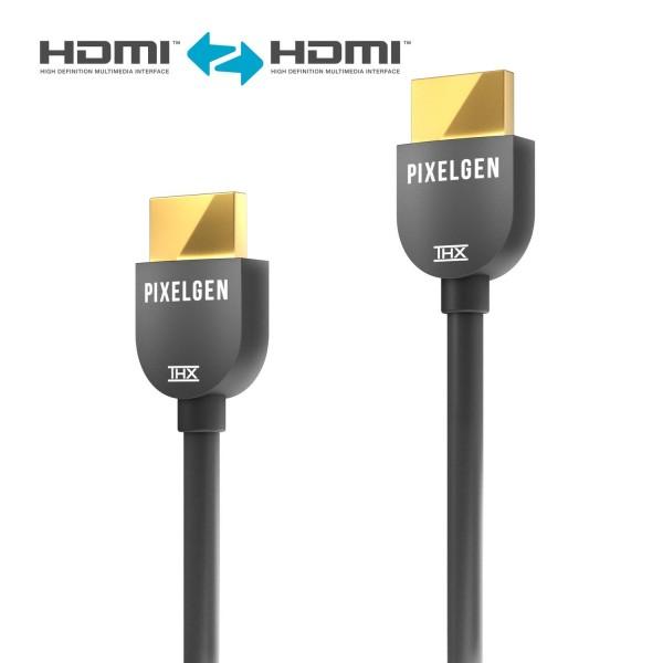 Pixelgen PXL-CBH03 - HDMI Kabel, THX zertifiziert - 0,30m