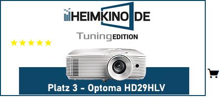 Optoma HD29HLV Beamer Testsieger kaufen