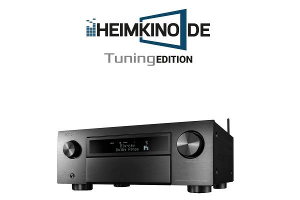 Denon AVC-X6700H 11.2 Kanal 8K-AV-Receiver, schwarz