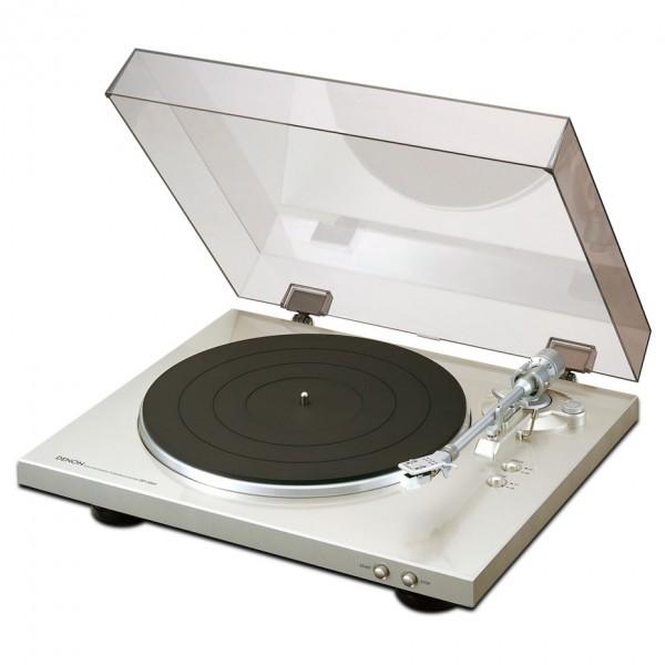 Denon Plattenspieler DP300F - silber