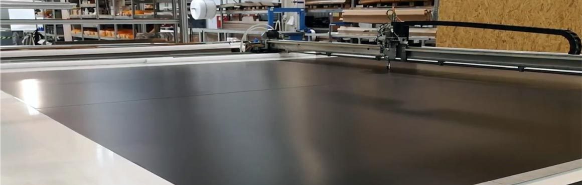 Tuchzuschnitt Dayvision Roboter