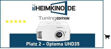 Optoma UHD35 Beamer Testsieger kaufen