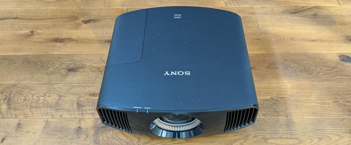 Sony VW590ES Beamer Abmessungen