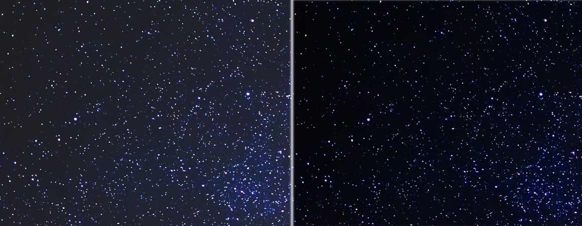 Schwarzwert On/Off Kontrast Vergleich TW7100 TW7000