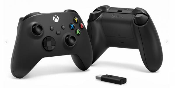 Microsoft Xbox Wireless Controller und Drahtlosadapter für Windows 10