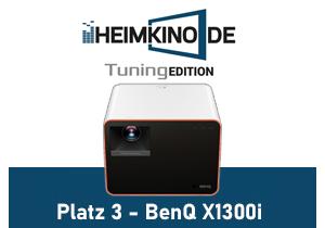 BenQ X1300i Beamer LED Testergebnisse